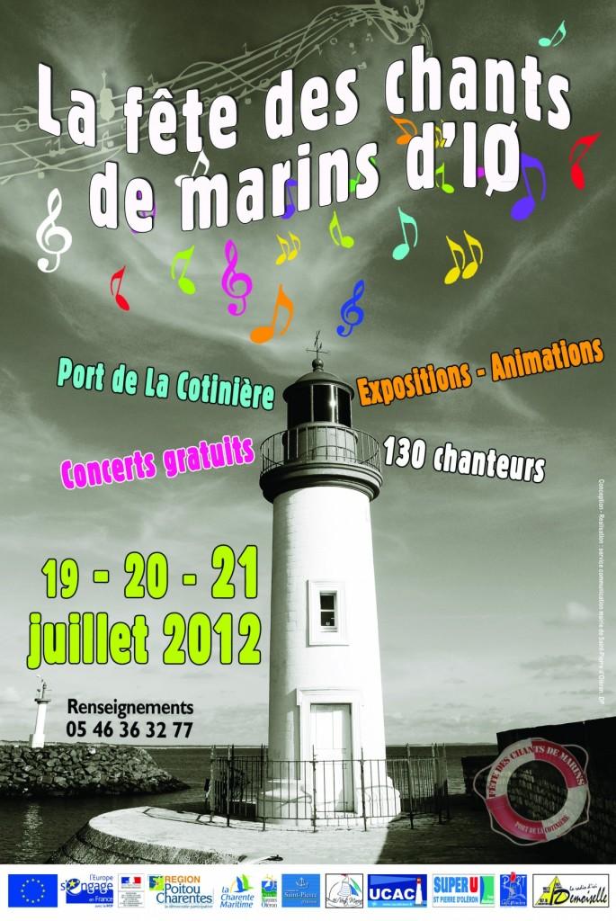 affiche fest chants marins 2012