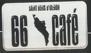 66 café logo