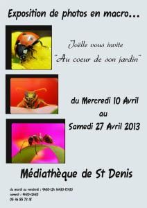 expo médiathèque 10 au 27 avril